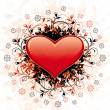 Abstract Valentine's Day Heart — Stock Vector
