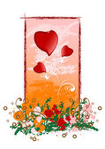 Creative grunge Valentines Day card — Stock Vector