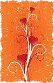 καρδιά με στροβιλίζεται — Διανυσματικό Αρχείο