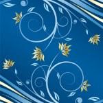 Floral design vector — Stock Vector #1828148