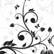 Flower scroll — Stock Vector #1829947