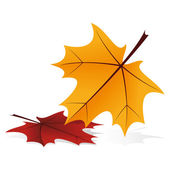 Autumn icon — Stockvector