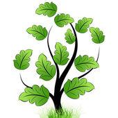 Ikona stromu — Stock vektor