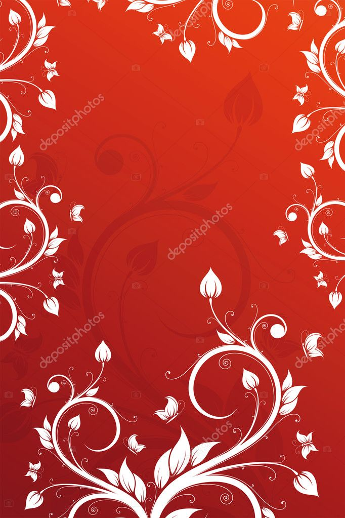 Valentine's Day abstract background for your design — Stock Vector #1830388