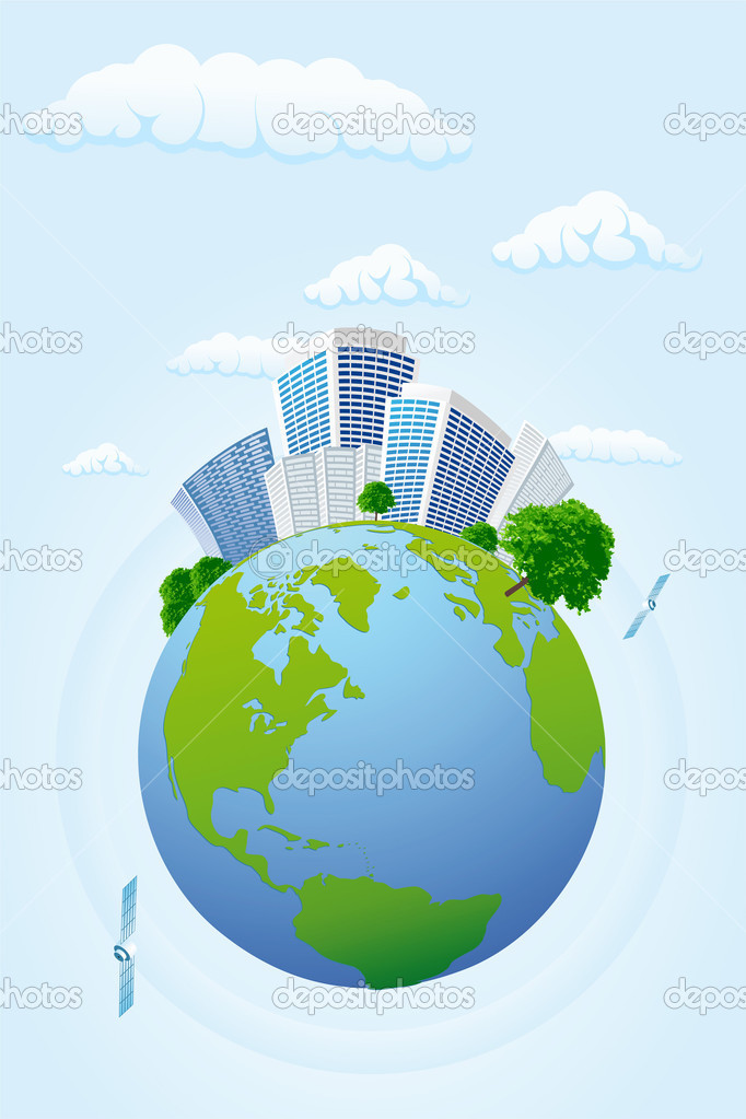 Business planet — Stock Vector #1831358