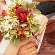 Bride's bouquet. — Stock Photo