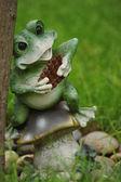 Jardín rana — Foto de Stock