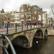Dutch bridge — Stock Photo