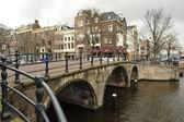 Dutch bridge — Stock Photo
