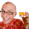 Stock Photo: Drunkard