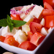 Royalty-Free Stock Photo: Cheese and tomato salad