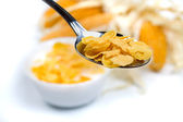 Corn cereal food — Stock Photo