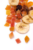 Dried tropical fruit — Stock Photo