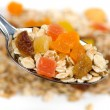 Muesli with dried fruit — Stock Photo #1805504