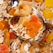 Muesli with dried fruit — Stock Photo #1805546