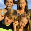 funny kids — Stock Photo