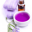 Lavender flower, soap and extract — Stock Photo #1806283