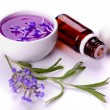 Stock Photo: Lavender products