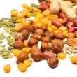 Mixed nuts and seeds - Stock Photo