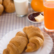 Croissants for healthy french breakfast — Stock Photo #1807596
