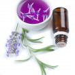Lavender flower and extract — Stock Photo #1807995