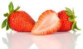 Fruta fresca de morango — Fotografia Stock