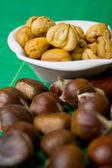 Gotowane owoce kasztanowca — Zdjęcie stockowe