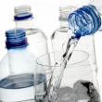 Bottled water — Stock Photo
