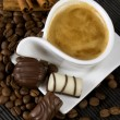 Coffee and chocolate — Stock Photo #2066461
