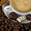 Coffee and chocolate — Stock Photo #2066465