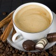 Coffee and chocolate — Stock Photo #2066469
