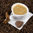 Coffee and chocolate - Stock Photo