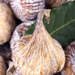 Dried figs and bay leafs — Stock Photo #2066652