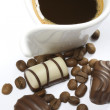 Coffee and chocolate — Stock Photo #2067056
