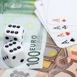 Euro gambling — Stock Photo