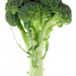Broccoli on white - Stock Photo