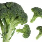 Broccoli over white — Stock Photo #2067351