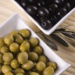 Green and black olives — Stock Photo #2067469