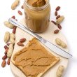 Peanut butter - Stock Photo