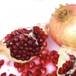 Ripe pomegranate fruit — Stock Photo #2067879