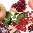 Stock Photo: Pomegranate fruit