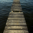 Stock Photo: Wooden dock