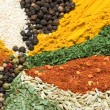 Stock Photo: Textures of spice