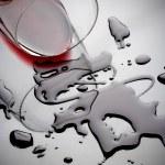 Wine spill — Stock Photo #2068652