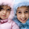 Winter children — Stock Photo