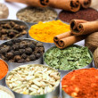 Foto de Stock  : Colorful spices