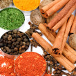 Stock Photo: Red pepper and other spices