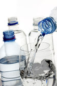 Bottled water — Stock Photo