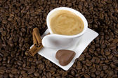 Coffee and chocolate — Stockfoto