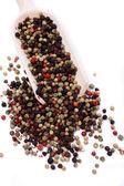 Blandade pepparkorn — Stockfoto